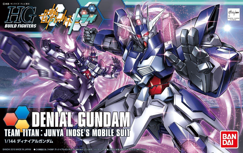 Bandai Hobby HGBF 1//144 Denial Gundam Gundam Build Fighters Model Kit