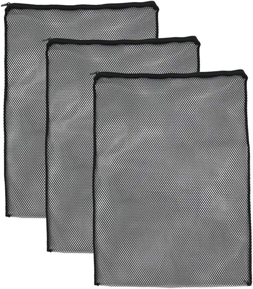 Polyester Fine Mesh Filter Bags Bio Bags Fish Filter Small J-star Black Pond Filter Media Bags 1mm Mesh Holes Aquarium Filter Bags