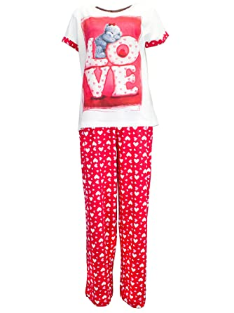 Tatty Teddy Womens Tatty Teddy Pajamas US Size 16 - 18