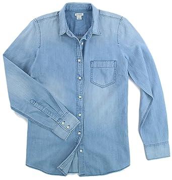 fa1a005b14c J. Crew - Women s- Chambray Shirt (Multiple Sizes) at Amazon Women s ...