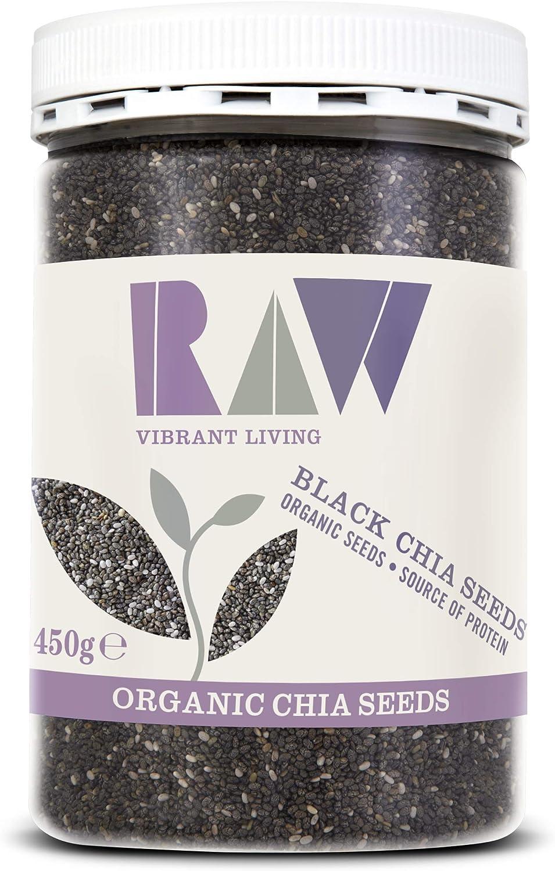 Raw Health Organic Chia Seeds 450 g: Amazon.es: Salud y cuidado personal