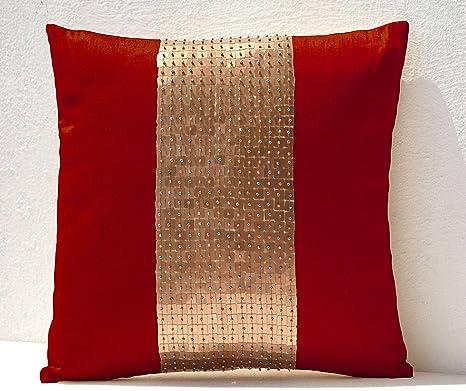 Cubiertas del amortiguador - rojo de color oro de ...