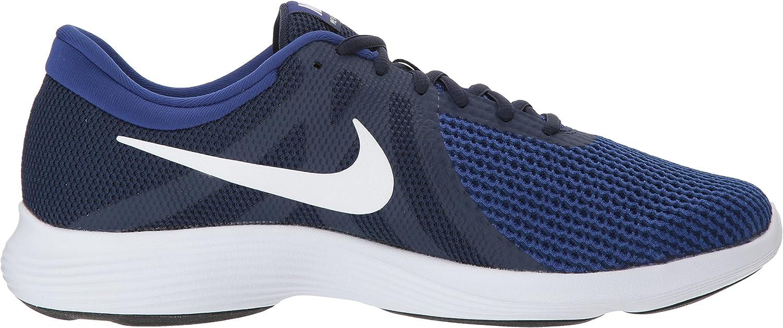 Nike Men's Revolution 4 Running Shoe Midnight Navy/White/Deep Royal