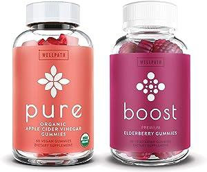 Apple Cider Vinegar + Elderberry Gummies 2-Pack