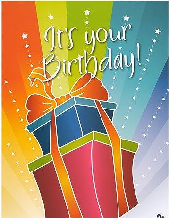 Zazie Oversized Birthday Card With Birthday Lottery Ticket Amazon