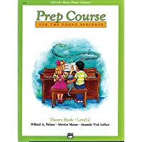 Prep Course For The Young Beginner Level (Alfred's Basic Piano Library)