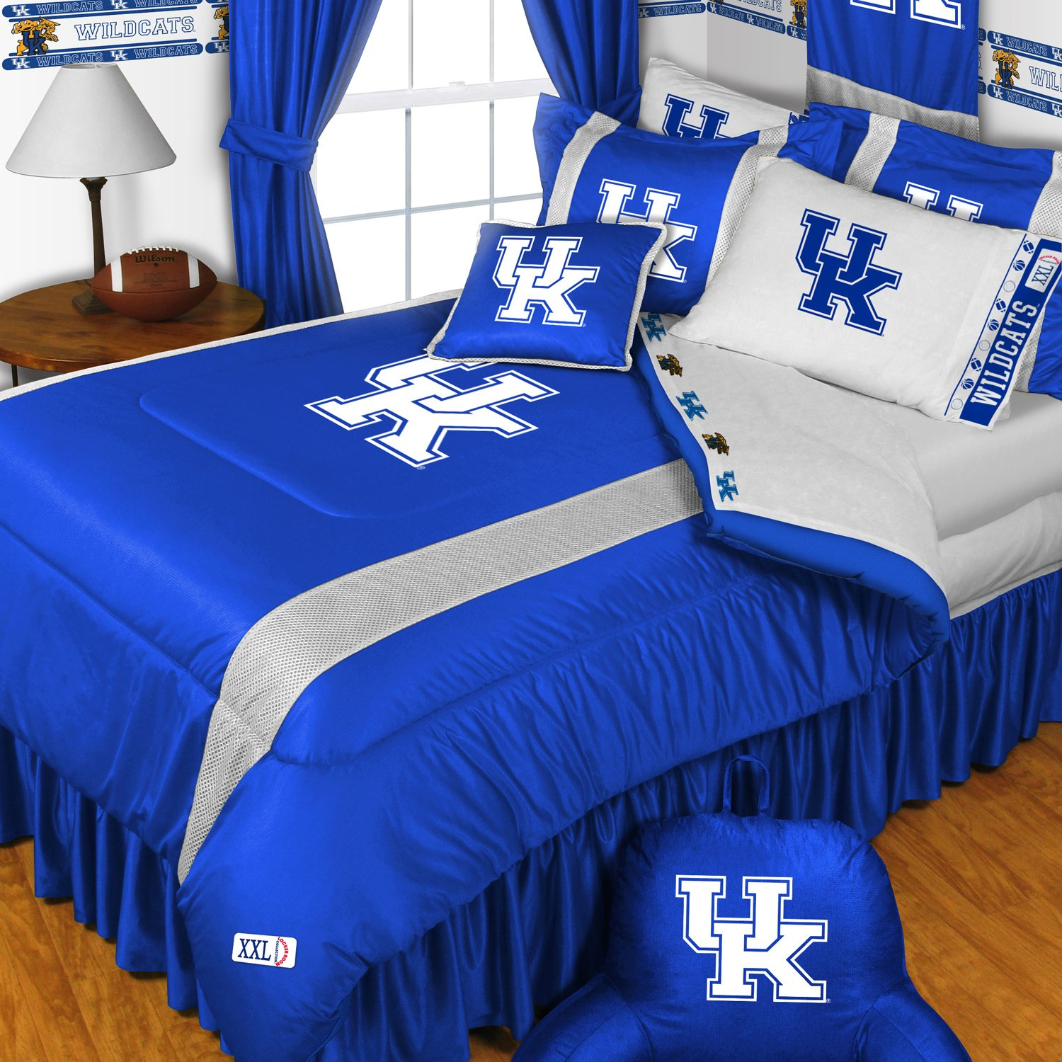 NCAA Kentucky Wildcats - 5pc BED IN A BAG - Queen Bedding Set by Store51 (Image #1)