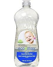Eco-Max Natural Baby Ultra Dish Wash, 740 ml, Scent Free