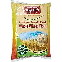 Natures Choice Premium Chakki Fresh Whole Wheat Flour (Atta) - 5 kg