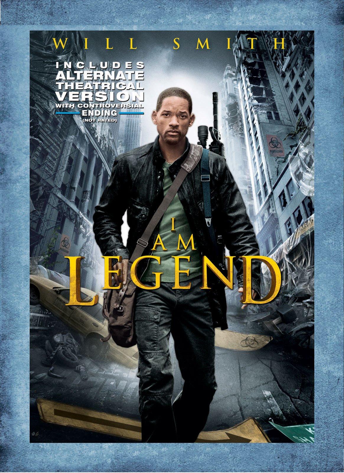 Amazon.com: I Am Legend (Alternate Ending): Will Smith, Salli ...