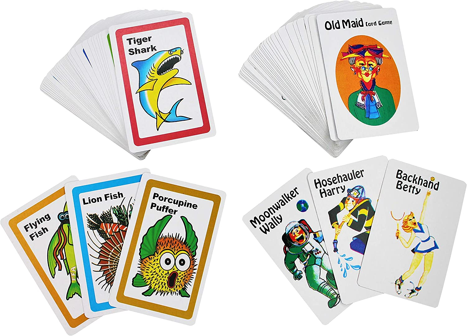 Dora the Explorer Go Fish and Old Maid Card Games in Tin