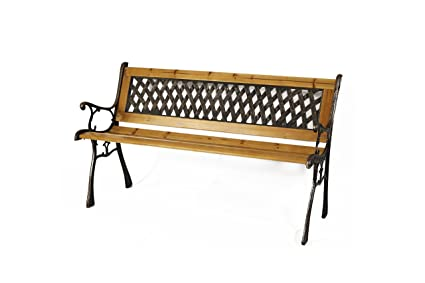 Astounding Gardenised Patio Garden Park Yard 49 Outdoor Wooden Bench Caraccident5 Cool Chair Designs And Ideas Caraccident5Info