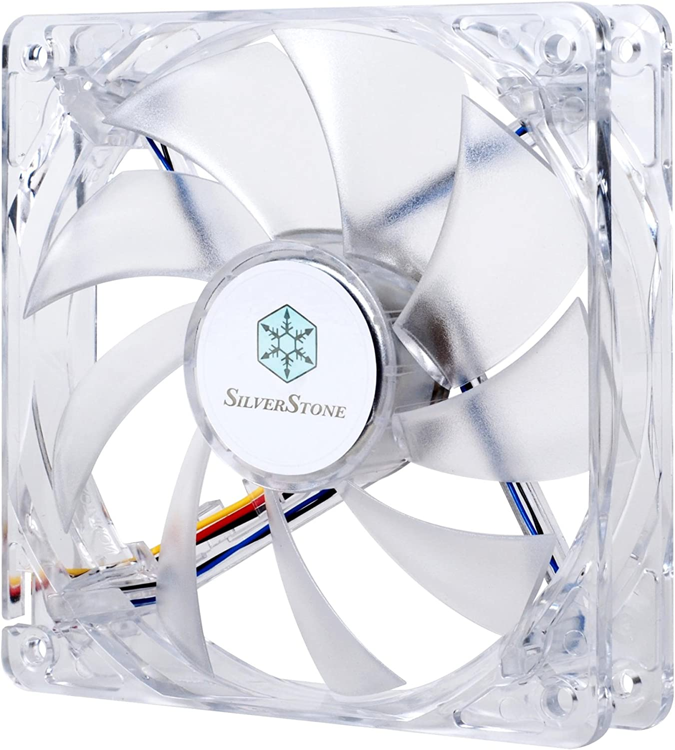 Silverstone 120mm Shining Blue LED Case Fan with Rifle Bearing Noise Level 26.6 Db FN121-BL