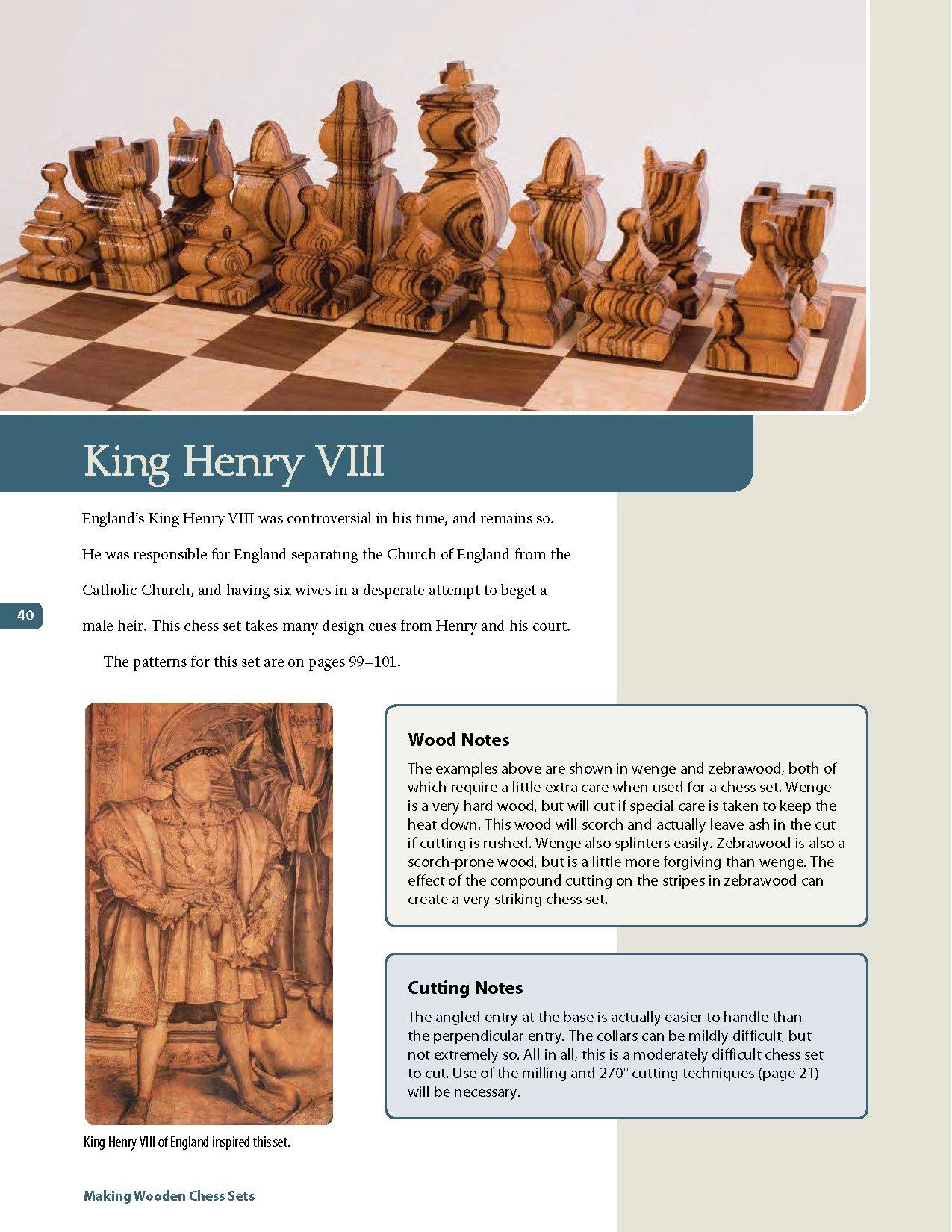 Sets making pdf chess wooden