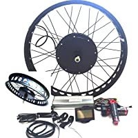 Theebikemotor 3000W Hub Motor Ebike Kit vélo électrique Moteur Kit de Conversion Cyclisme + LCD Or TFT Display+ Disc Brake Rear Wheel