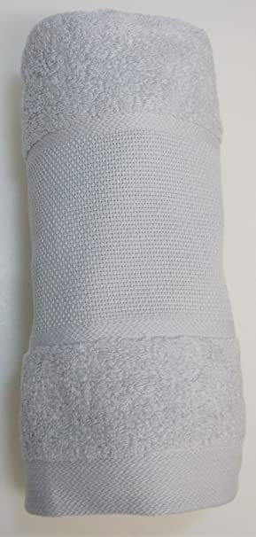 Rico-diseño de toallas de mano de colour gris claro con diseño de Aida de rayas sin material para contadas para punto de cruz: Amazon.es: Hogar
