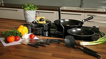27tlg.-küchenset starterset erstausstattung topfset pfannenset ... - Erstausstattung Küche