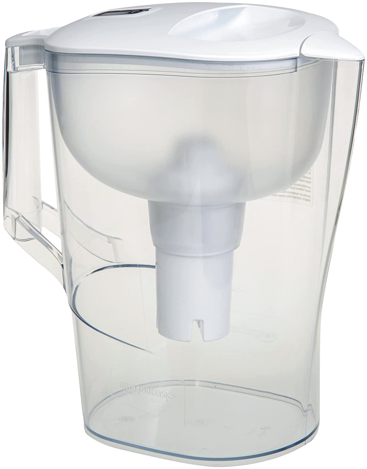 AmazonBasics 10-Cup Water Pitcher with Filter B06XYWH6BC