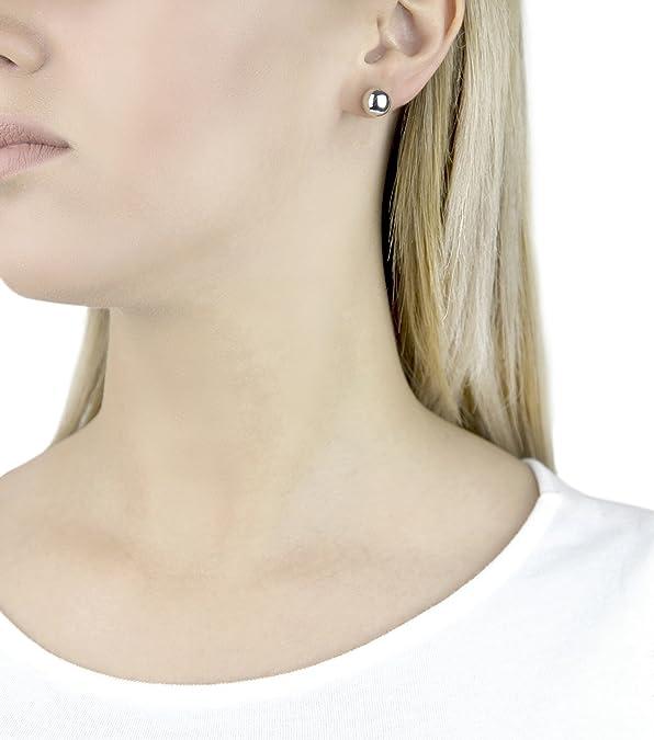 ecc46a80e Georg Jensen Sterling Silver Sculptural Moonlight Grapes Single Stud  Earrings: Amazon.co.uk: Jewellery