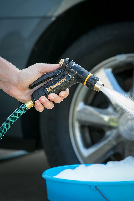 amazon com melnor xt200 heavy duty metal hose nozzle with rear