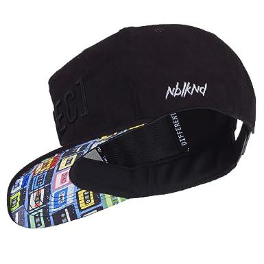 f33bd38cf6290 Nebelkind Unisex Snapback Cap Rec2 Kassetten Kappe Schwarz One Size ...