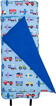 Wildkin Nap Mat With Pillow For Toddler Boys And Girls Perfect Size For Daycare And Preschool Designed To Fit On A Standard Cot Patterns Coordinate