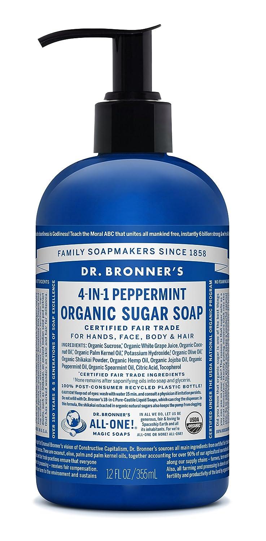 Amazon.com : Dr. Bronner\'s Organic Lemongrass Lime Sugar Soap. 4-in ...