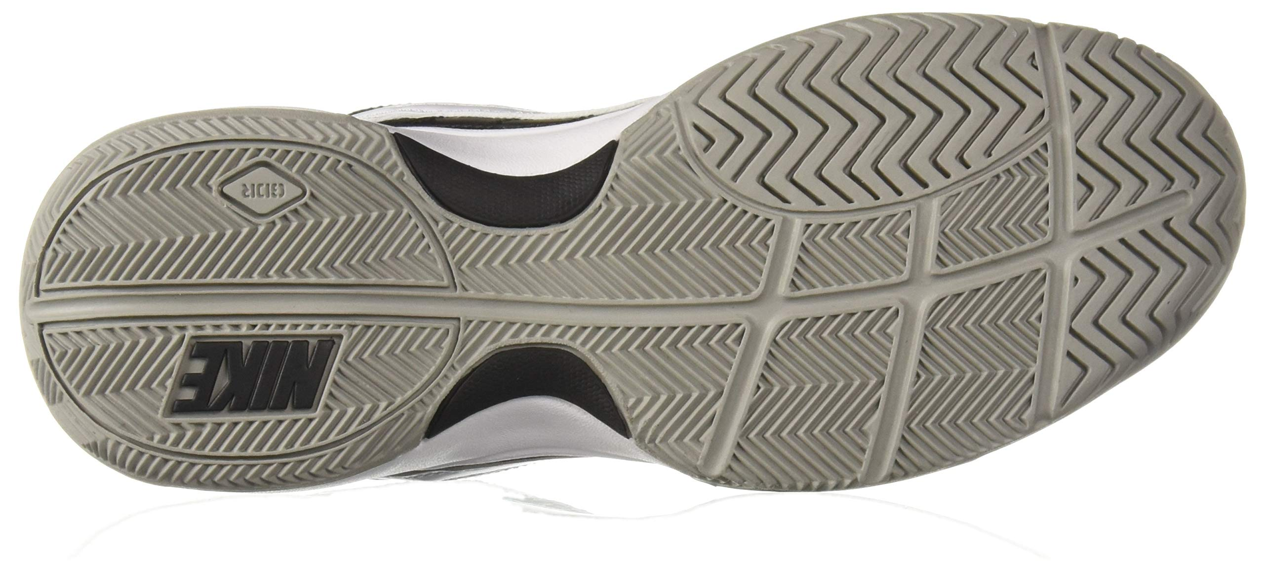 NIKE Men's Court Lite Athletic Shoe, Black/White/Medium Grey, 7.5 Regular US by Nike (Image #3)