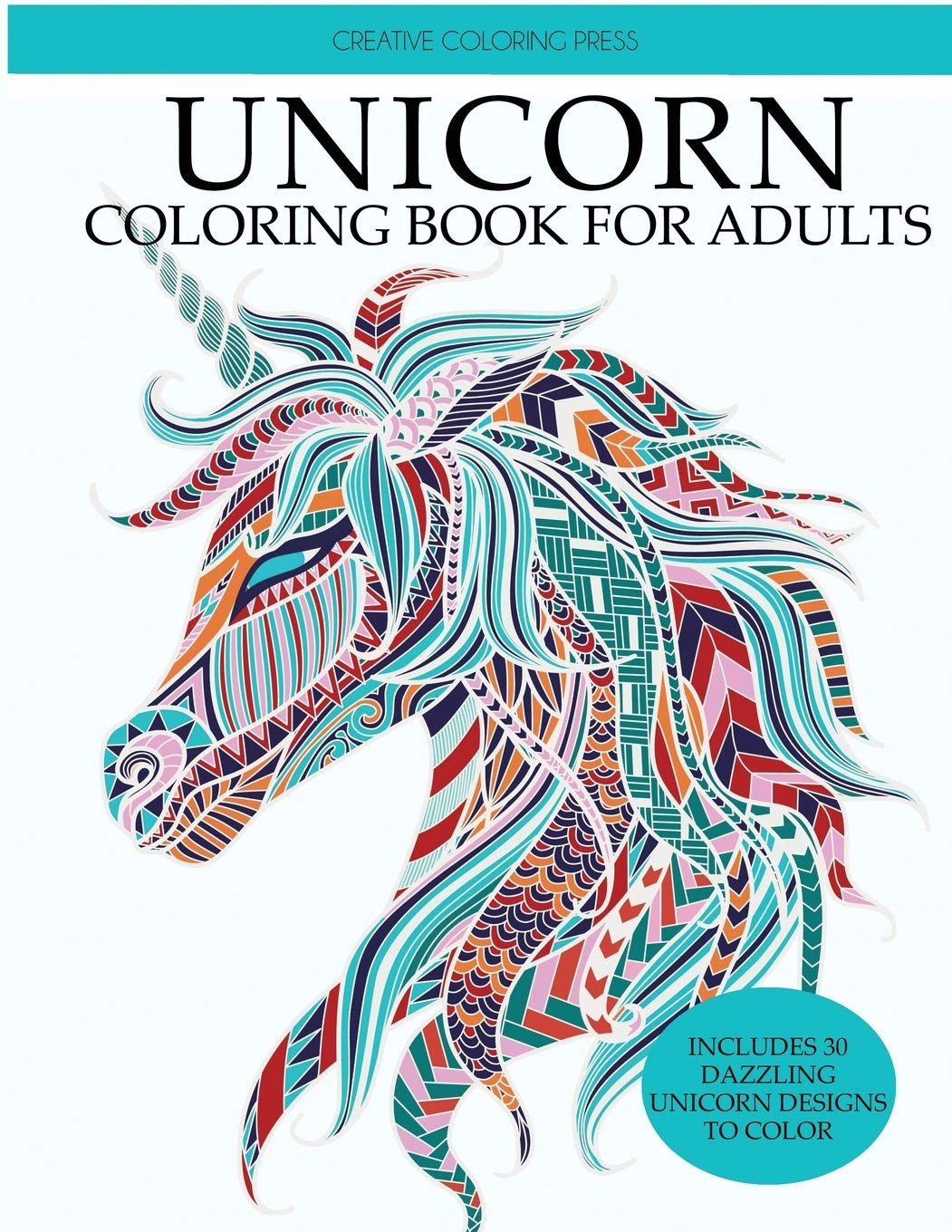 - Amazon.com: Unicorn Coloring Book: Adult Coloring Book With