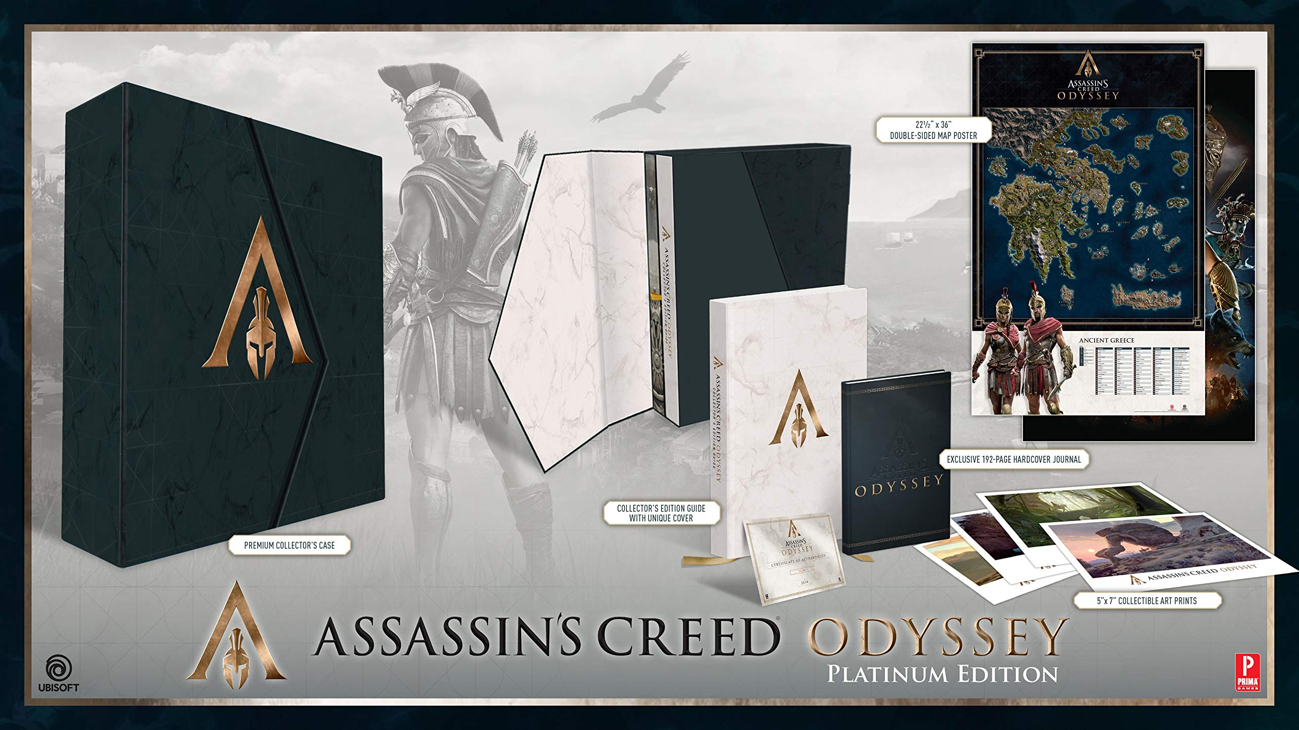 assassins creed odyssey official platinum edition guide