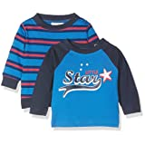 Twins Baby Boys Long Sleeve Tee Little Star (Pack of 2)