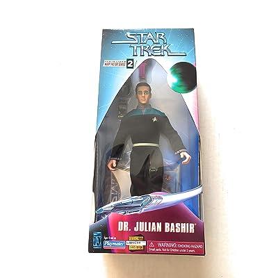 9 Dr. Julian Bashir Action Figure - Warp Factor Series 2 - Star Trek: Deep Space Nine: Toys & Games