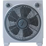ASTAN HOGAR Box Fan Niza ventilatore da pavimento, Bianco, Media