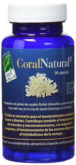 100% natural Coral Natural Minerales - 90 Cápsulas: Amazon.es: Salud ...