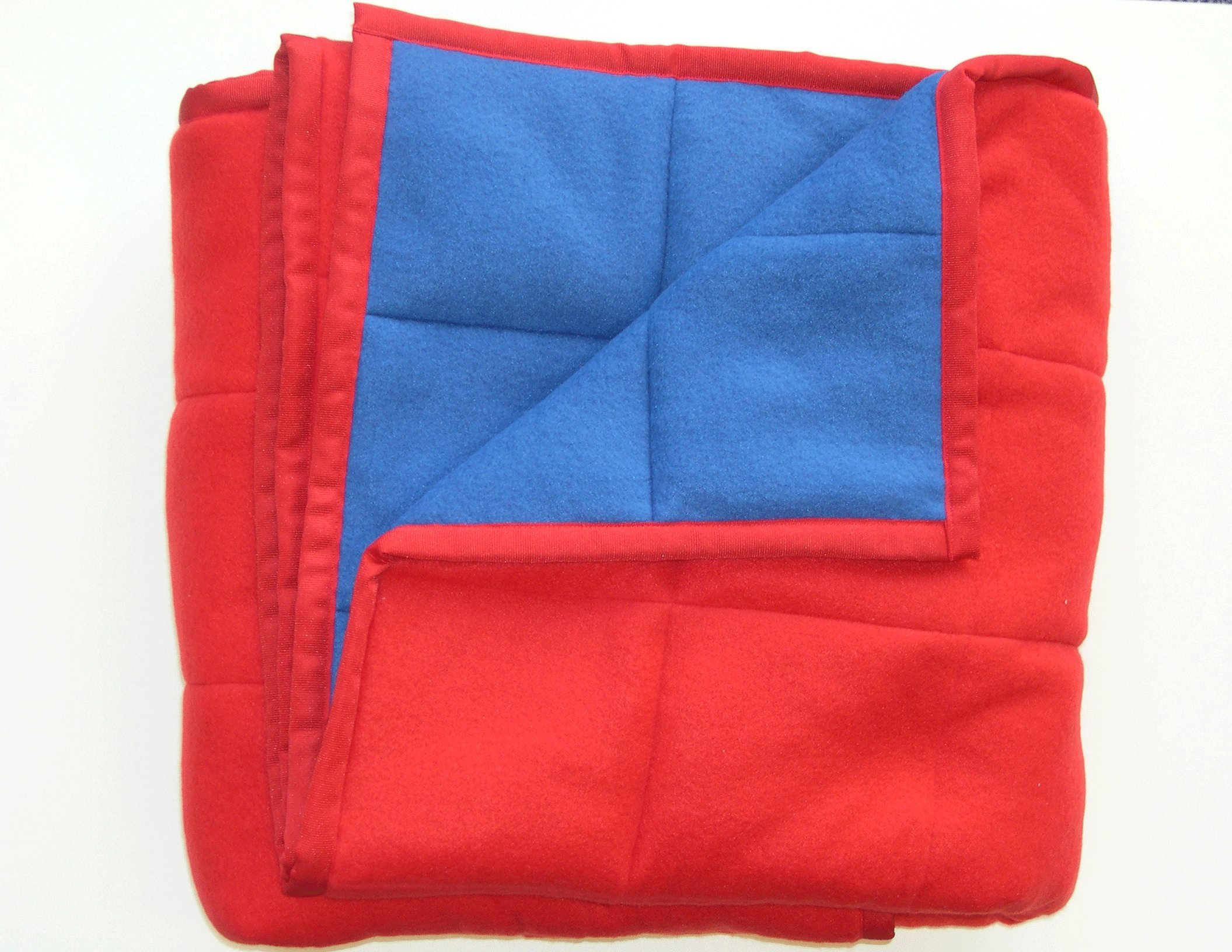 THERAPIST APPROVED PEDIATRIC WEIGHTED SENSORY BLANKET 8 LBS 45 X 60