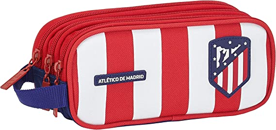 Atletico de Madrid Equipaje, Niños Unisex, Rojo/Blanco/Azul, Talla Única: Amazon.es: Ropa y accesorios