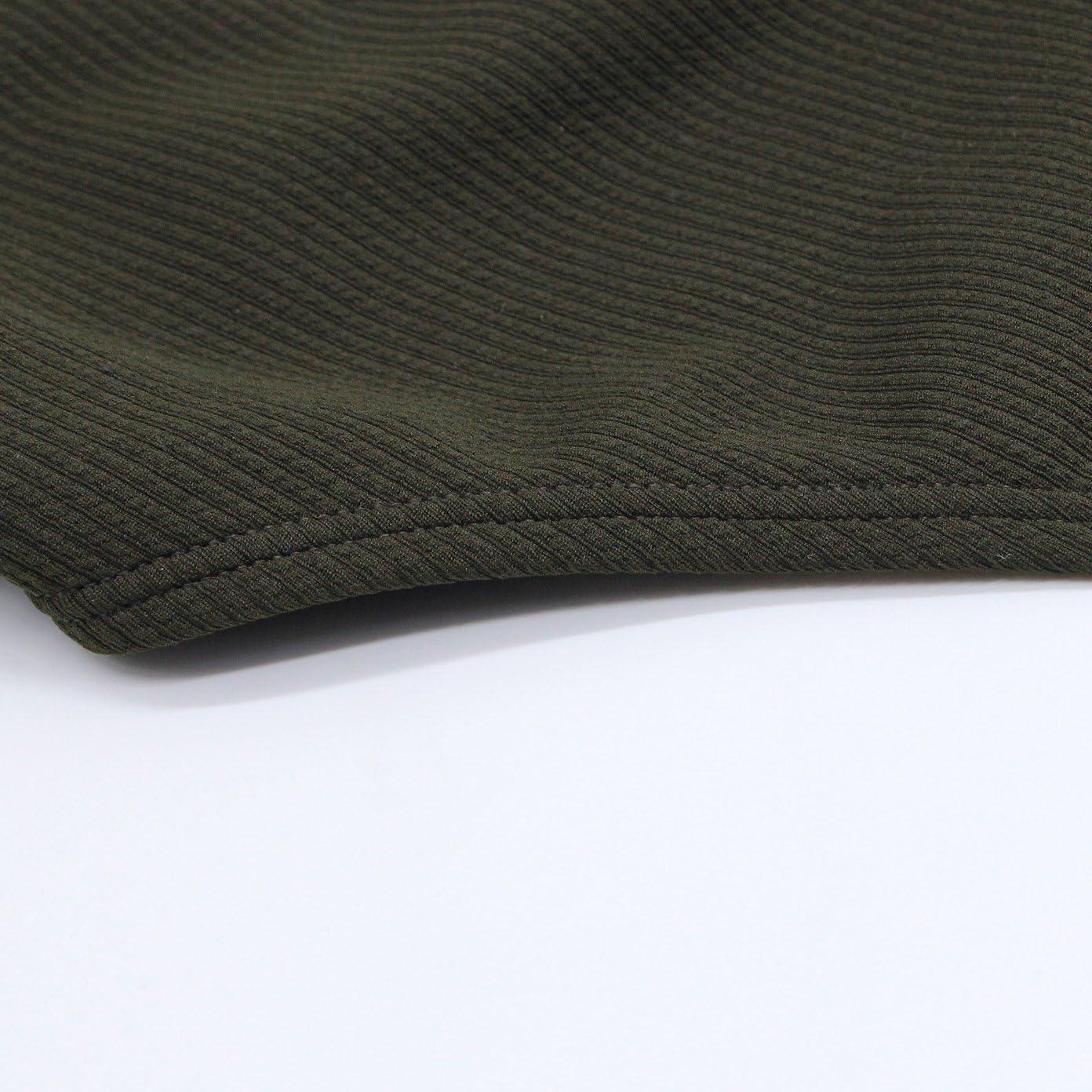 SHEKINI Trajes de ba/ño de una Pieza de Corte Alto para Mujer Trajes de ba/ño sin Cuello en V