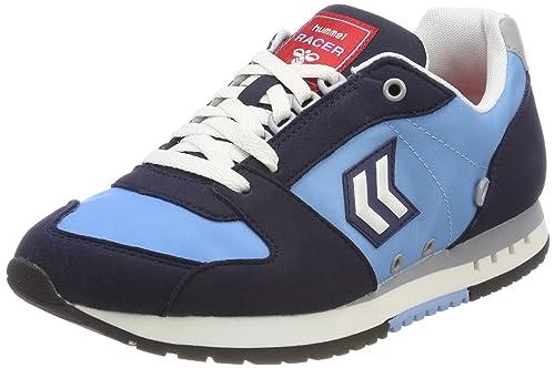 Hummel Marathona Racer, Scarpe da Ginnastica Basse Unisex-Adulto, Blu (Alaskan Blue), 42 EU