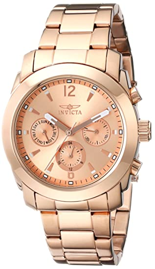 Invicta 17902 Watch Women s Angel Analog Display Swiss Quartz Rose Gold f16f25c1f90c