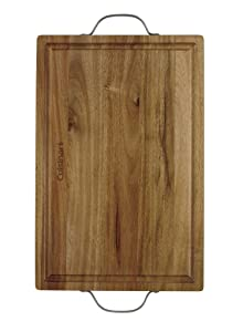 """Cuisinart CCB-2HCB Carving Board, 18"""" x 12"""", Brown"""