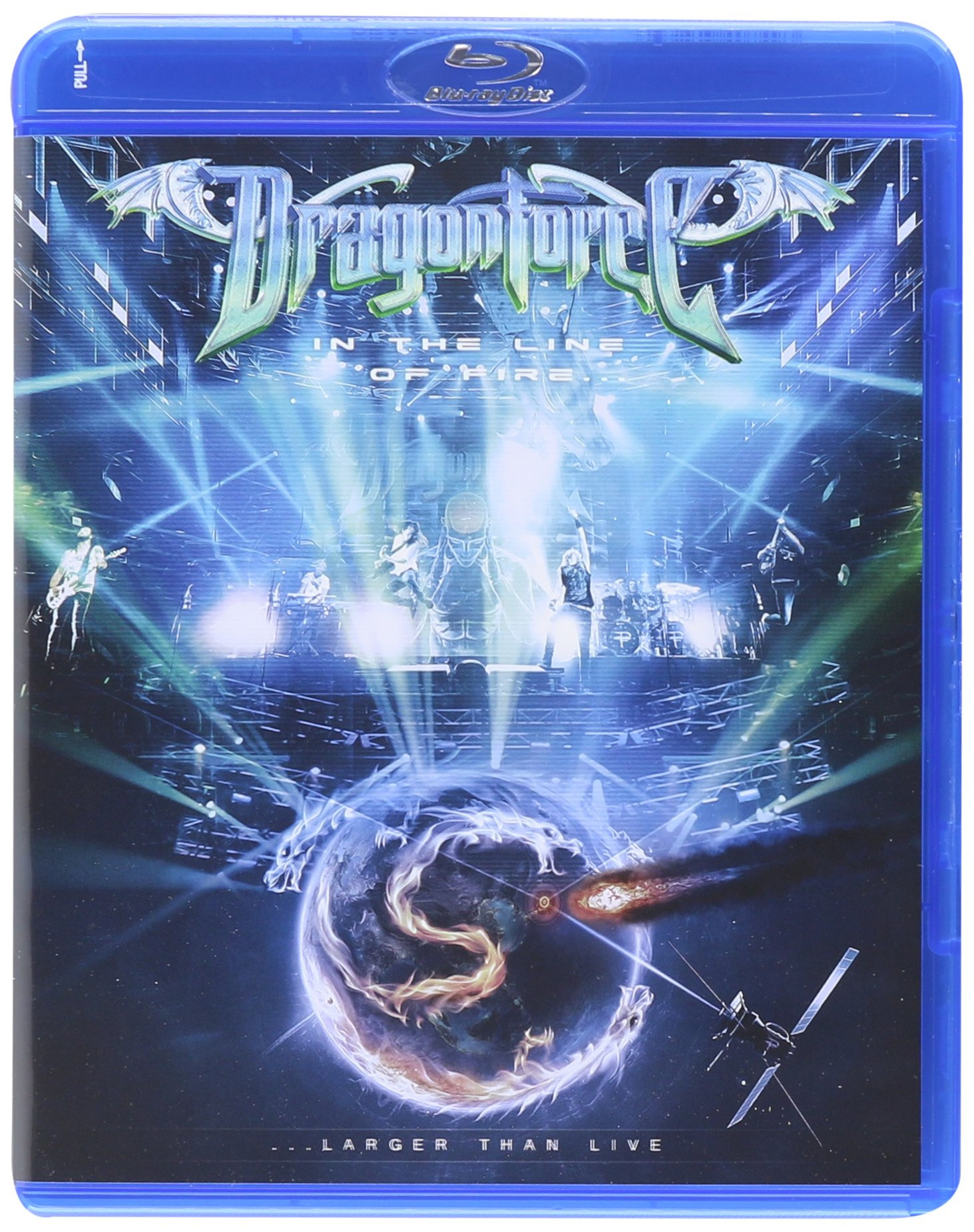 Blu-ray : DRAGONFORCE - In The Line Of Fire Larger Than Life (2PC)
