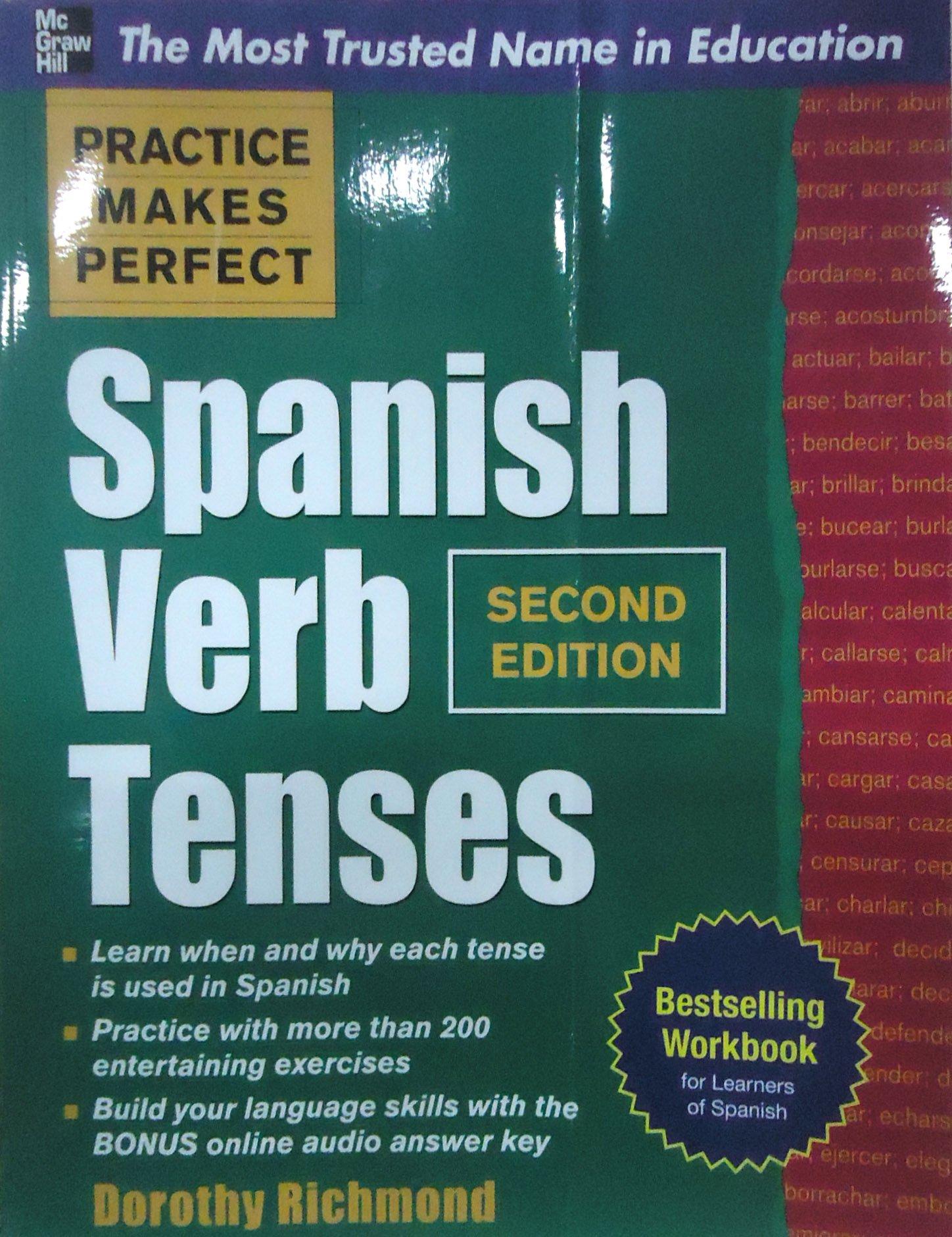 Amazon Practice Makes Perfect Spanish Verb Tenses Second