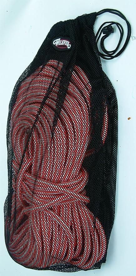Amazon.com: Weaver Piel Cuerda Bolsa de lavado, color negro ...