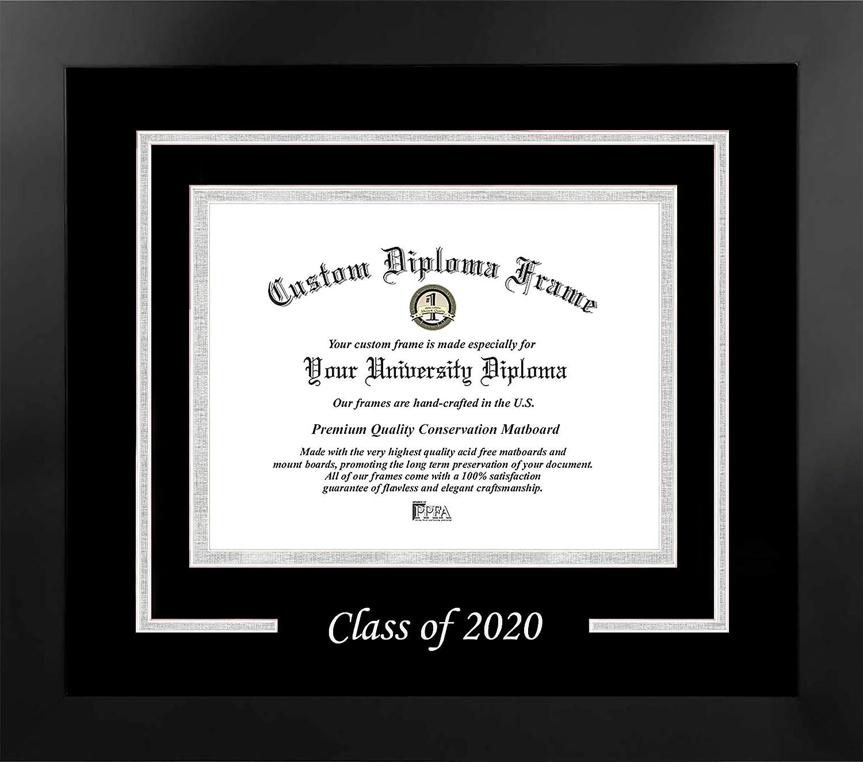 Celebration Frames Eastern Washington University 8 x 10 Mahogany Finish Infinity Diploma Frame