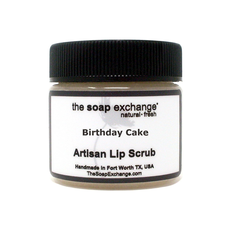 Amazon.com : The Soap Exchange Lip Scrub - Dulce de Leche Flavor - Hand Crafted 1.5 oz / 42.5 g Natural Lip Care, Artisan Lip Treatment, Exfoliate, Hydrate, ...