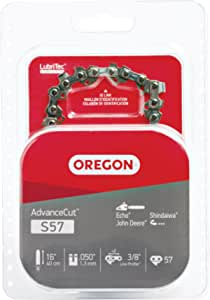 Oregon S57 AdvanceCut 16-Inch Chainsaw Chain Fits Cub Cadet, Echo, John Deere, Shindaiwa