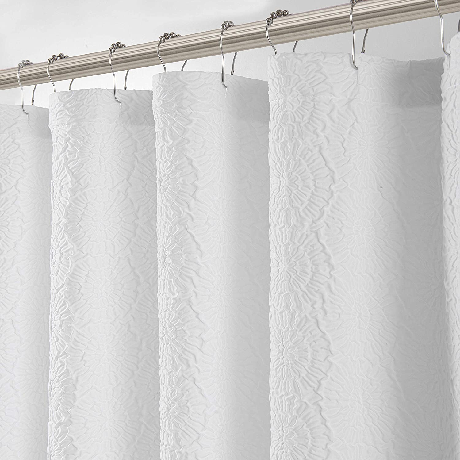 Max 53% OFF SALENEW very popular LORDTEX 3D Embossed Textured Matelassé Shower Curtains fo Fabric