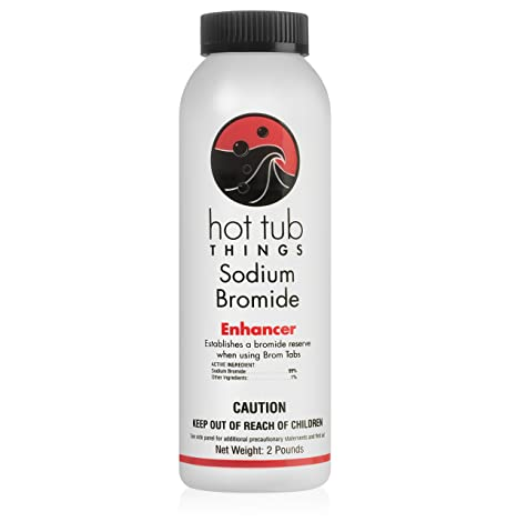 Hot Tub Things Sodium Bromide 2 Pound - Sanitizes Your Hot Tub Water