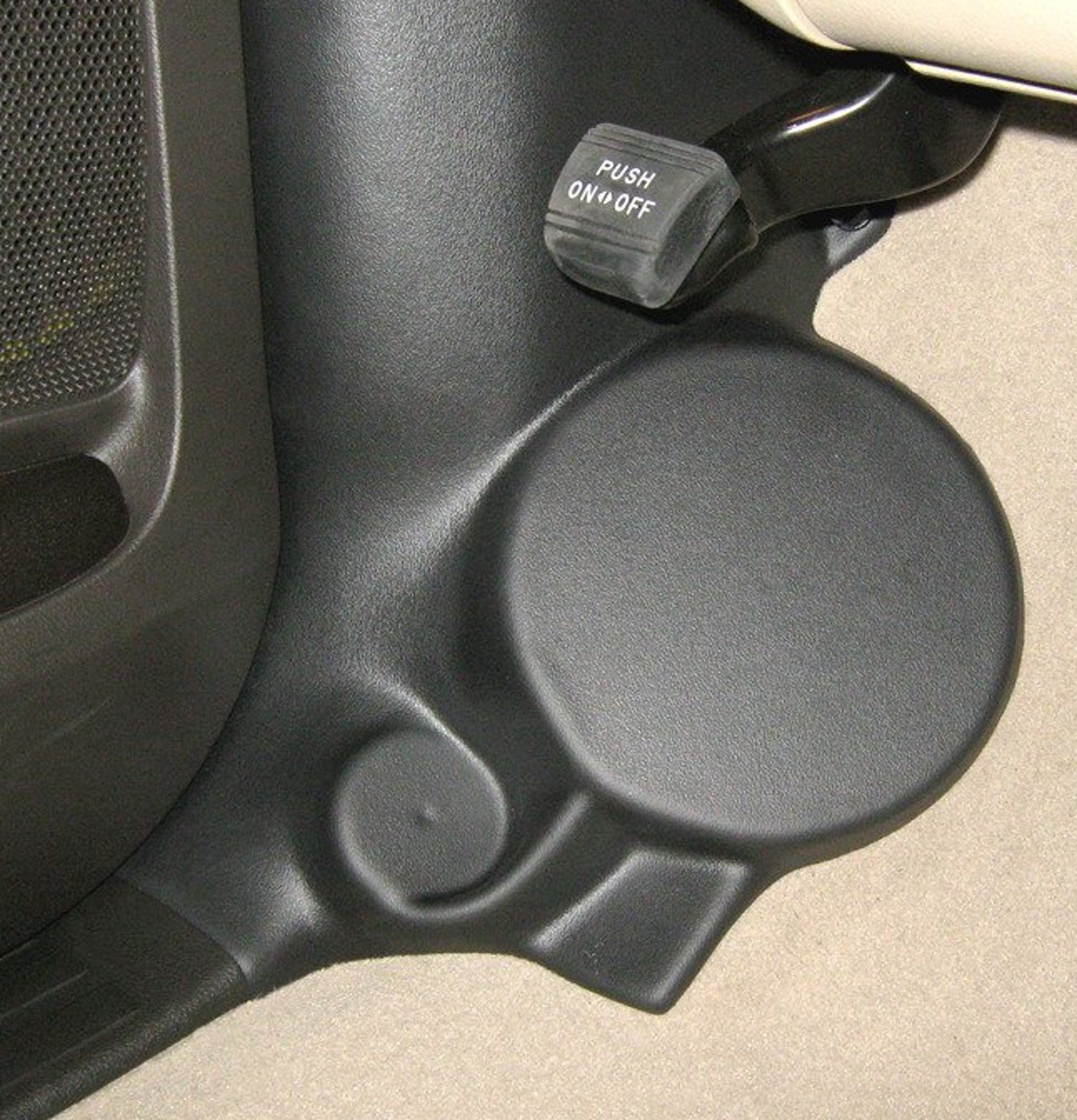 Kick Panel Speaker Mounts for Toyota SEQUOIA & TUNDRA CREWMAX Regular & Double Cab by Q-Forms (Image #1)