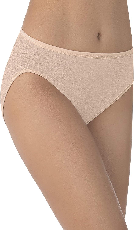 Vanity Fair Women's Illumination Hi Cut Panties (Regular & Plus Size) at  Women's Clothing store